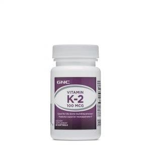 Vitamin MK-7 K-2 - 100 mcg